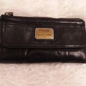 Black Fossil wallet